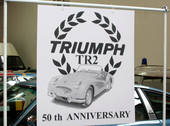 TR2 50th anniversary