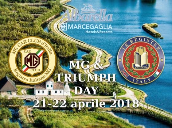 MG + TRIUMPH DAY aprile 2018