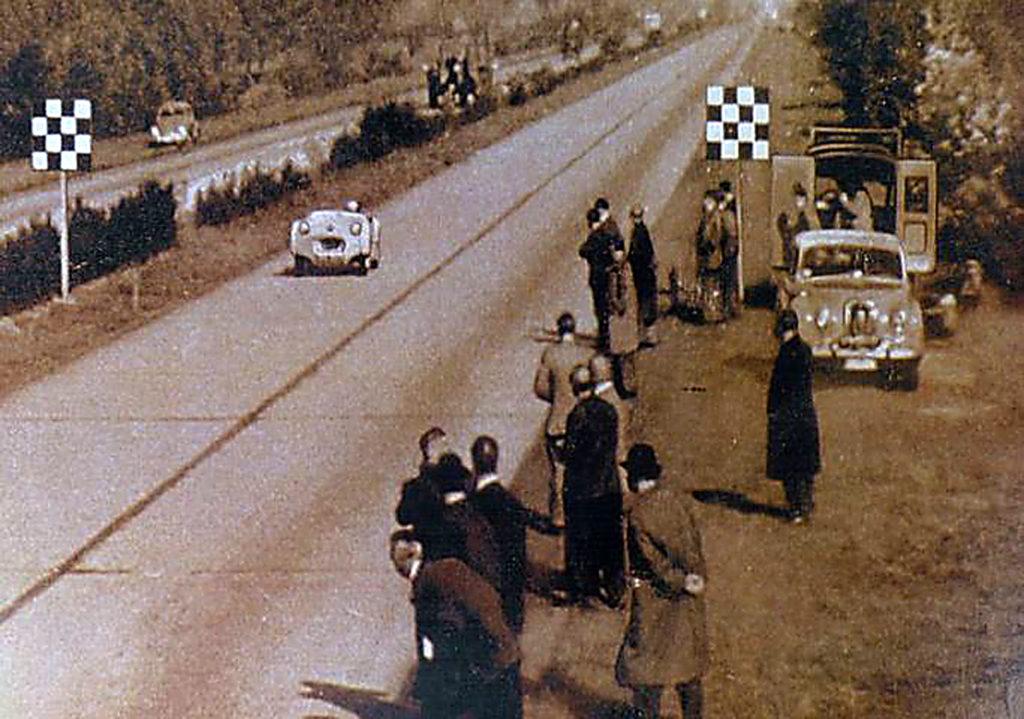 TR2 at Jabekke, 1953