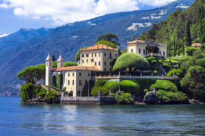 Lago di Como, TR Italy
